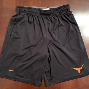 Nike Dri Fit Texas Longhorns Logo Athletic Shorts
